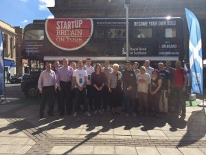 Startup Britain Bus Tour - Perth - Kallum with a K Russell - Acorn Enterprise 4