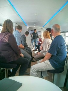Startup Britain Bus Tour - Perth - Kallum with a K Russell - Acorn Enterprise 6